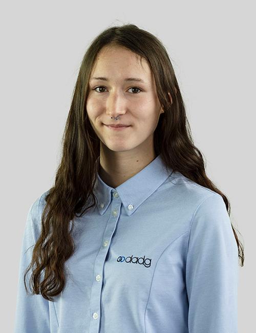 Pia Pospischil Auszubildende Kauffrau für Büromanagement DADG mbH